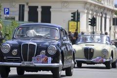 11mo Circuito que compite con de la vendimia de Génova Imagenes de archivo