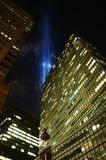 11th September in New York. Night of 11th September in New York Royalty Free Stock Image