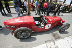 11th Vintage Racing Circuit of Genoa Royalty Free Stock Photography