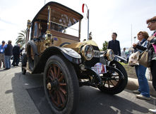 11th Vintage Racing Circuit of Genoa Stock Photos
