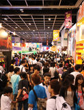 12ème Ani-COM et jeux Hong Kong Images stock