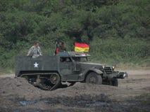 12ème Contact militaire dans DarÅowo Photos libres de droits