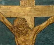 12ème Gare de la croix Image libre de droits