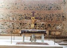 12ème Gares de la croix Image libre de droits