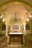 12ème. le CEN. crypte à l'église de rue Servaas, Maastricht Image stock