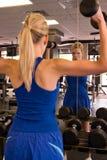 12个举重运动员妇女 库存照片