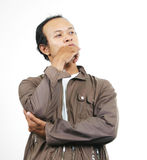 12个亚洲人人 免版税库存图片