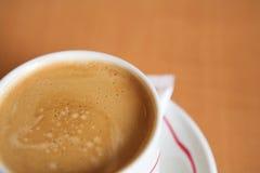 12个咖啡杯 免版税库存图片