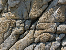 12个岩石纹理 图库摄影