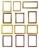 12个框架照片 免版税库存照片