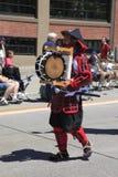 12个每年节日6月游行波特兰上升了 免版税库存照片