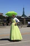 12个每年节日6月游行波特兰上升了 免版税图库摄影
