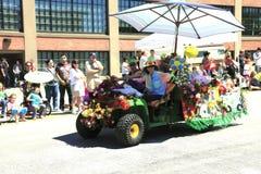 12个每年节日6月游行波特兰上升了 库存照片