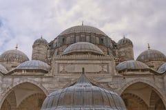 12个清真寺sehzade 免版税库存图片