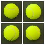 12个球网球黄色 免版税库存图片