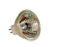 12个电灯泡卤素伏特 库存照片