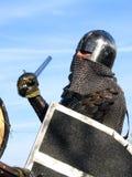 12个骑士全副盔甲 免版税库存图片