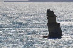 12位传道者巨大melbo海洋路视图 库存照片