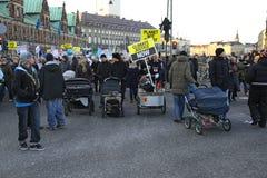 12哥本哈根12月 库存照片