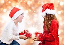 12圣诞老人 库存图片
