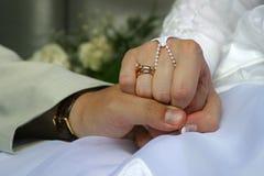 12对夫妇最近结婚了 免版税库存照片