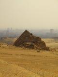 12座吉萨棉金字塔 免版税库存照片