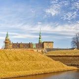 12座城堡kronborg 库存图片