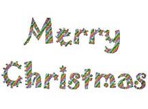 12快活的圣诞节 库存图片