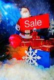 12月销售额 库存照片