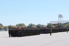 12毕业海军陆战队员 免版税库存图片