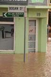 12澳洲布里斯班洪水1月 免版税库存图片