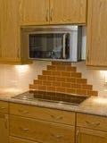 12现代的厨房 免版税库存照片