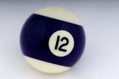 12球没有池 免版税库存图片