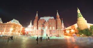 12莫斯科晚上 库存照片