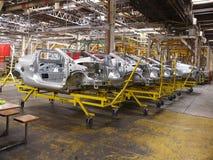 12辆汽车生产 免版税图库摄影