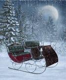 12风景冬天 免版税图库摄影