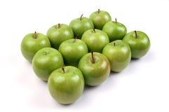 12 μήλα Στοκ Εικόνα