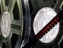 12 σειρές εξελίκτρων ταινιών Στοκ Εικόνες
