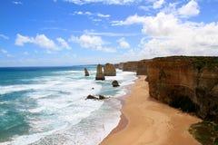 12 апостола Австралия Стоковые Изображения