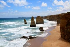 12 апостола Австралия Стоковое Фото