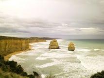12 апостола Австралия Стоковое Изображение RF