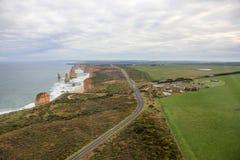 12 апостолов на большой дороге океана Стоковые Изображения RF