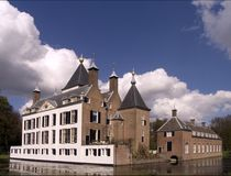 12 голландеца замока стоковые фото