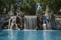 12 месяцев фонтана Стоковое Изображение RF