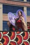 12 парад portland в июне празднества 20 ежегодников подняли Стоковые Изображения RF