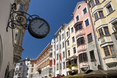 12:05 em Innsbruck Foto de Stock Royalty Free