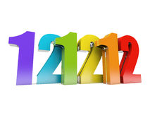 12-12-12 Royalty Free Stock Images