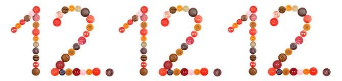 12.12.12. - giorno unico Fotografia Stock