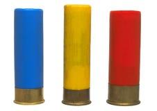 12 16 20杆枪查出的架子射击 免版税图库摄影