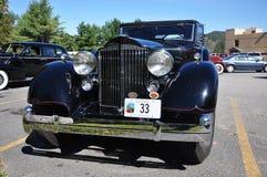 12 1934古董车敞篷车packard 图库摄影